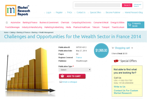 Challenges and Opportunities for the Wealth Sector in France'