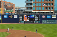 Lighthouse LED Video Display at Durham Bulls Athletic Park