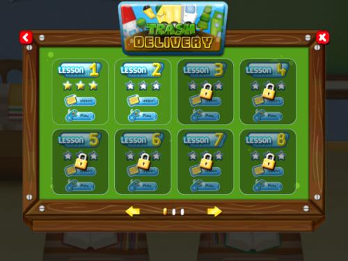Gaia Town education game'