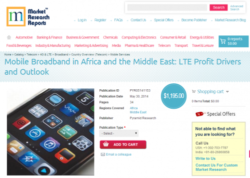 Mobile Broadband in Africa and the Middle East'
