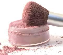 mineral make-up'