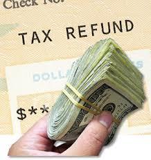 tax refund'