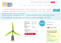 Wind Power, Update 2014 - Global Market Size, Average Price