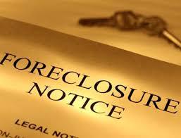 foreclosure'