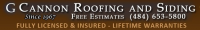 G. Cannon Inc. Roofing and Siding Logo