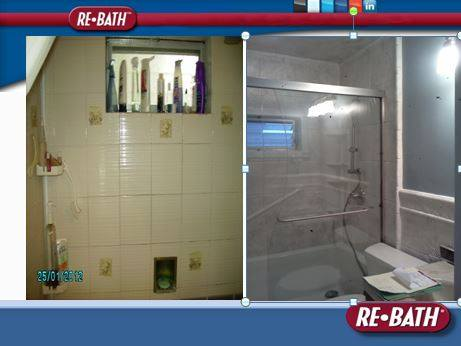 RE BATH Philadelphia Shower Remodel Before And After'