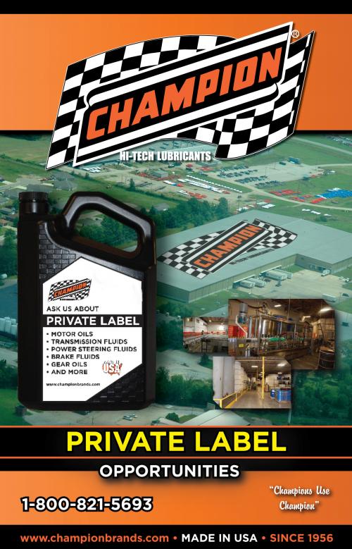 Champion Private Label Catalog'