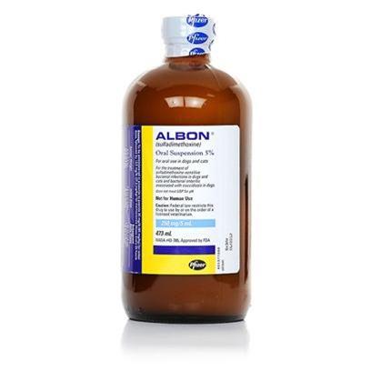 Albon 5 Oral Suspension'