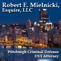 Pittsburgh Criminal Defense Attorney'