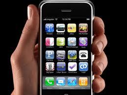 iPhone app'