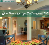 New Home Design Center Checklist