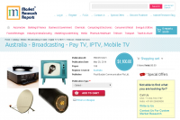 Australia - Broadcasting - Pay TV, IPTV, Mobile TV