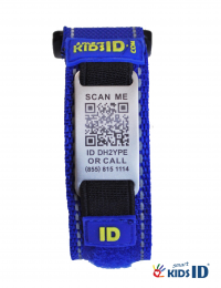 SmartKidsID Child ID Bracelet