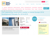Civil engineering construction market in Central Europe 2014