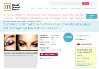 Cosmetics retail market in Central Europe 2014