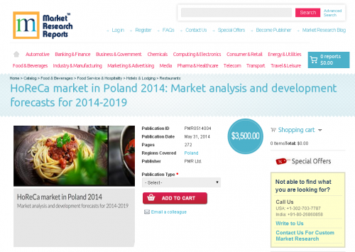 horeca market in poland 2014 market Gaming market 32 34 china travel trends spain, poland, portugal and ireland for the emea region top thoughts for 2014 and.