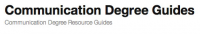 Communication Degree Guides