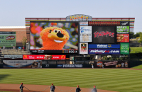 Lighthouse LED Video Display at Isotopes Park