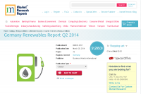 Germany Renewables Report Q2 2014