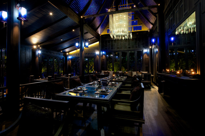 Black Ginger Restaurant in Phuket Interior