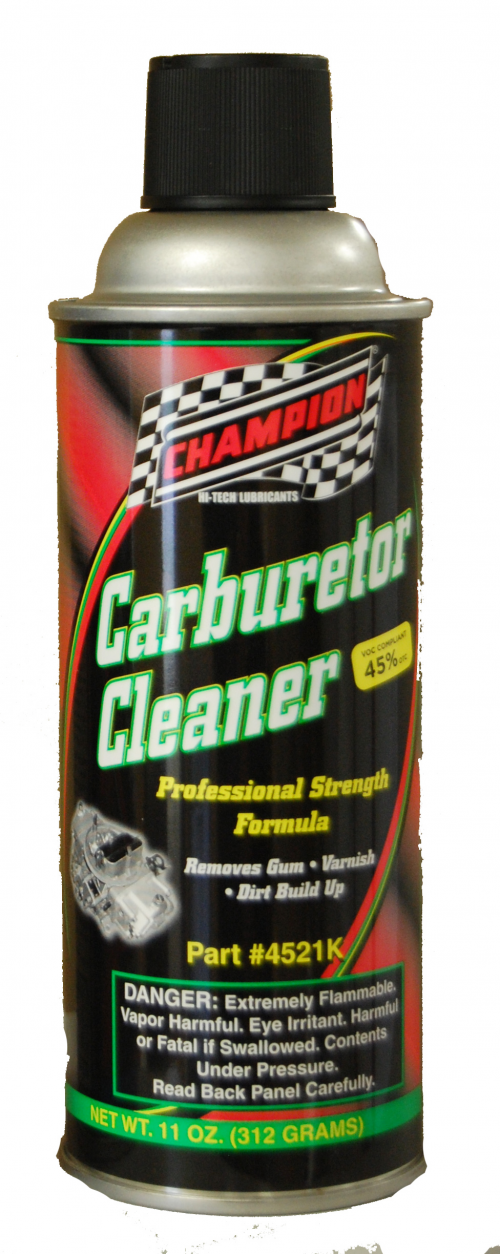 Champion Professional Grade Carburetor Cleaner'