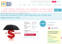 Non-Life Insurance in the Czech Republic 2018