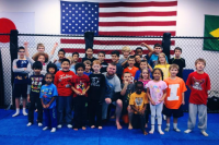 Naperville_Karate_teacher_and_students