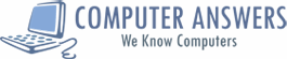 Logo for Computer Answers'