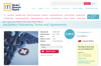 Antibiotics Partnering Terms and Agreements