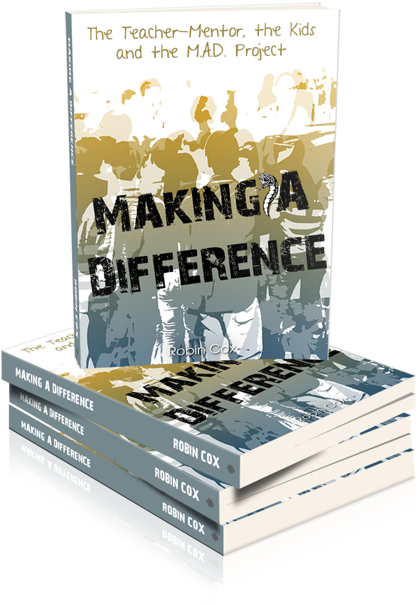NEW BOOK RELEASE-Making A Difference, by author Robin Cox