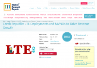 Czech Republic LTE Deployments and MVNOs to Drive Revenue
