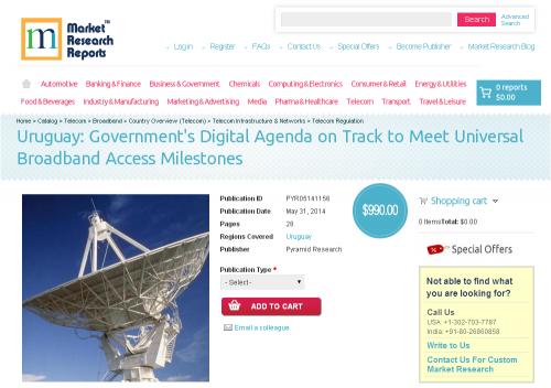 Uruguay: Government's Digital Agenda on Track to Meet'