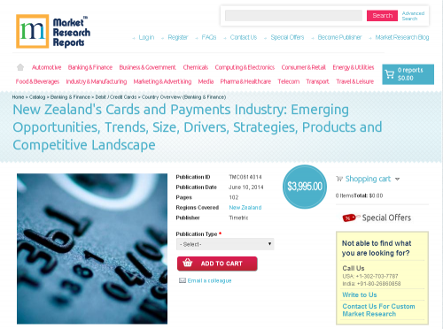 New Zealand Cards and Payments Industry'