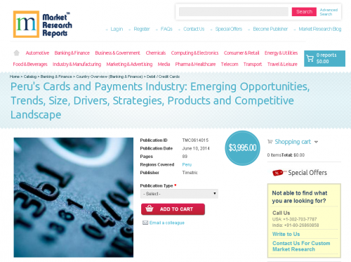 Peru Cards and Payments Industry'