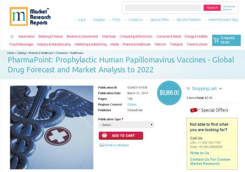 Prophylactic Human Papillomavirus Vaccines - Global Drug'