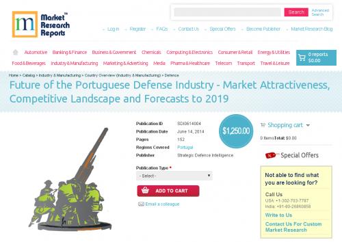 Portuguese Defense Industry - Market Attractiveness'
