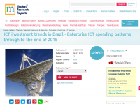 ICT investment trends in Brazil
