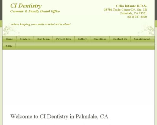 CI Dentistry'