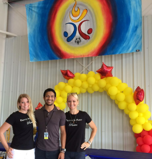Pretty In Paint Parties At The 2014 Special Olympics in NJ'