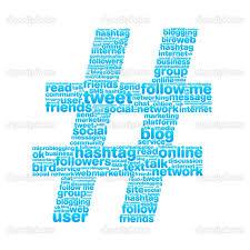 hashtags'