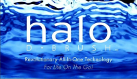 Halo D brush Logo