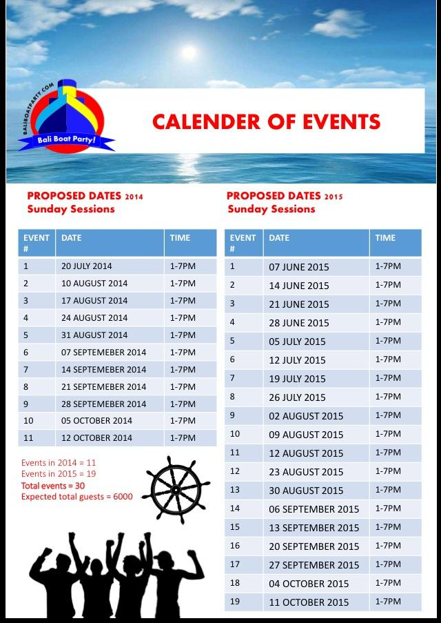 Events date