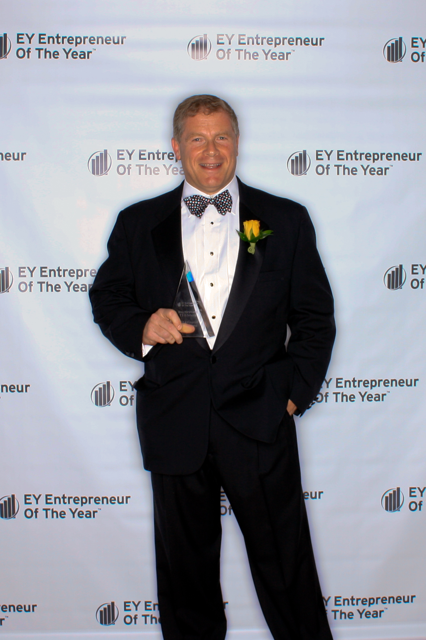 T3 Advisors' Roy Hirshland: EY Entrepreneur of the Year