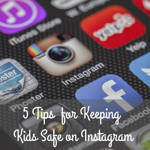 Keeping Kids Safe on Instagram'