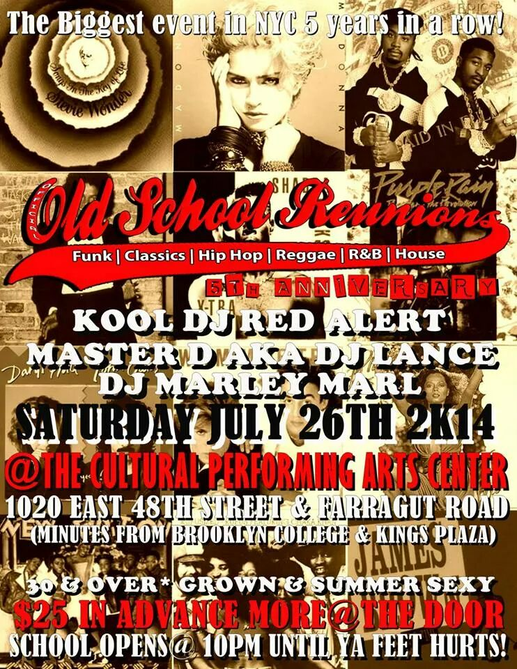 Old School Reunion 2014