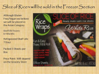 Slice of Rice RiceWrap Foods