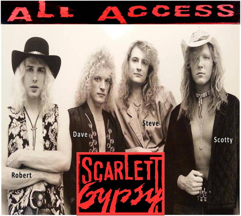 "Scarlett Gypsy to Release Debut Album ""All Access&a"