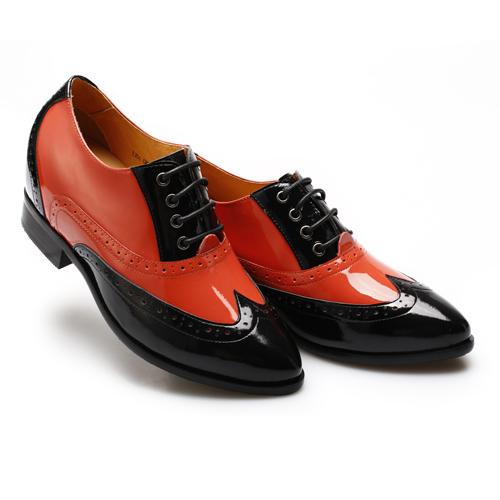 Chamaripa women dress elevaor shoes'
