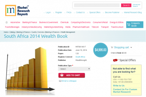 South Africa 2014 Wealth Book'