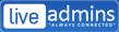 Logo for LiveAdmins LLC'